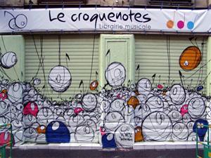 Le Croquenotes - Librairie musicale